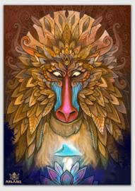 Monkey Spirit Poster