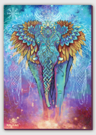 Spirit elephant Canvas print