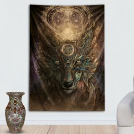 Wolf spirit Wandtapijt