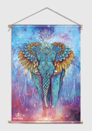 Elephant spirit Textielposter
