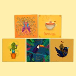 Set 5 Postcards