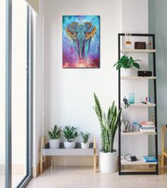 Spirit elephant Canvas print