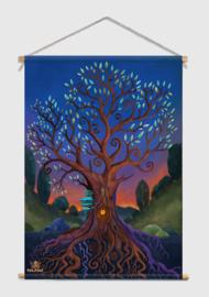 Treehouse Textile Poster