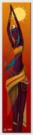 The Ondjongo Canvas print