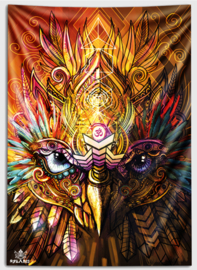 The wise owl Wandtapijt
