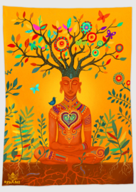 Meditation Wandtapijt
