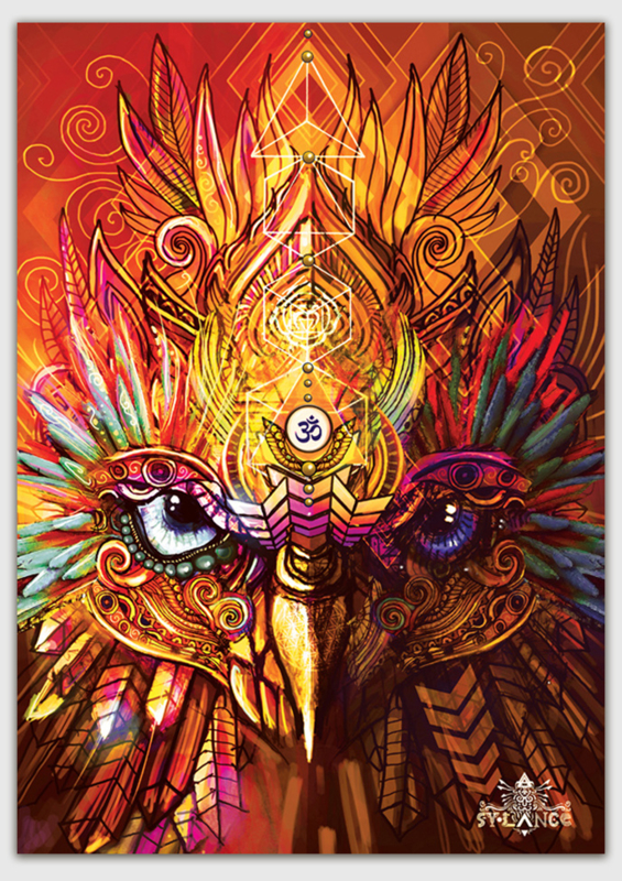 The wise owl Kaart