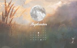 Maankalender september 2017: Dromen rond volle maan