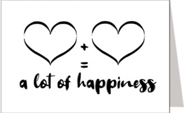 A lot of happiness