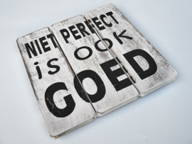 Niet perfect (wit)