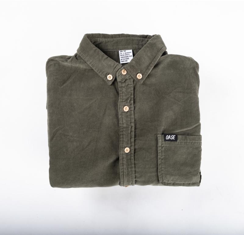 Corduroy Shirt  Green