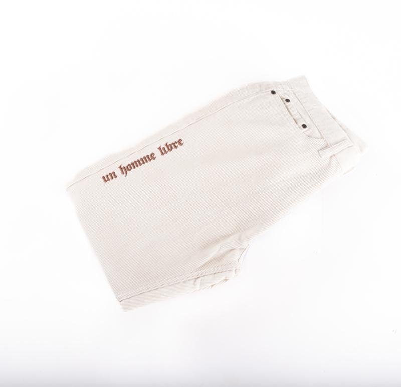 Corduroy Pants Cream