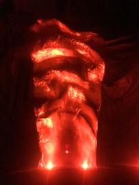 Koud Vuur Skytube Huren, Lichteffect