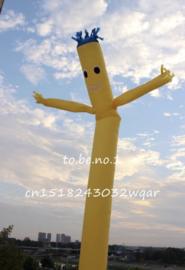 Gele Sky Dancer 6 m huren