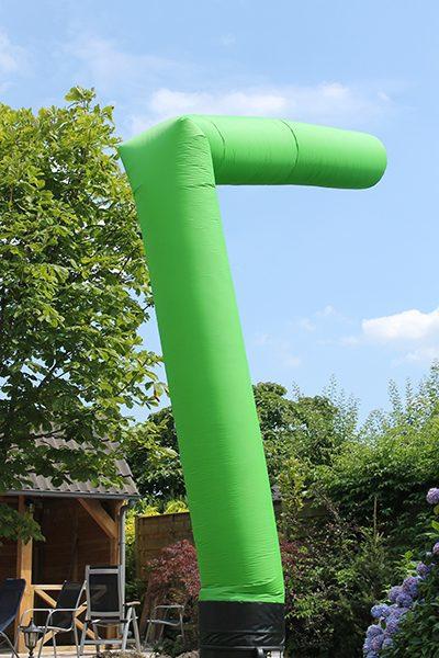 Skytube Groen Huren 6 meter