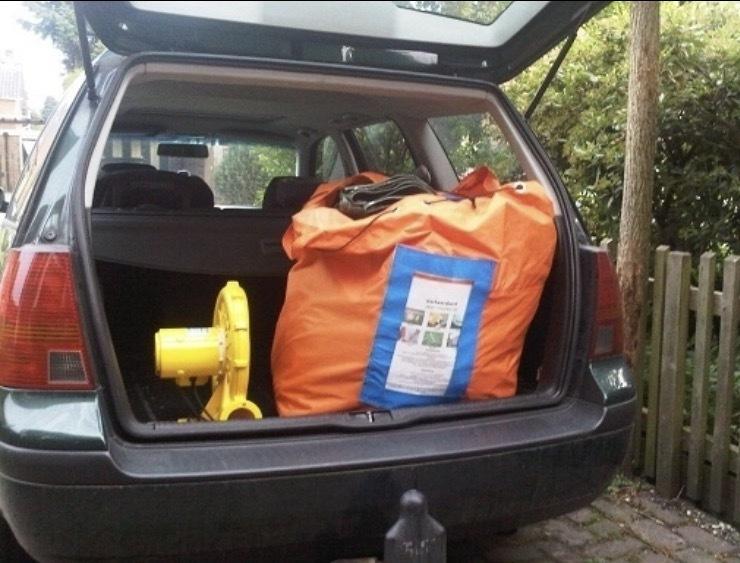 Abraham en Sarah pop huren in Brabant en Limburg bij Jump 4 Joy