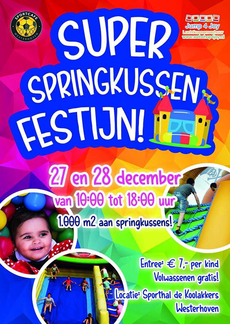 Indoor Springkussen Festijn