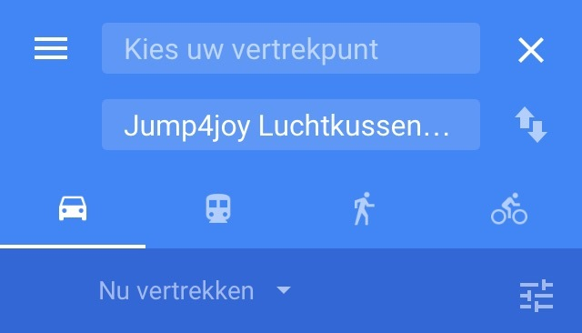 Km afstand berekenen naar Jump 4 Joy in Maarheeze