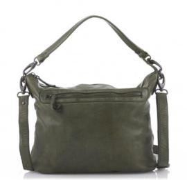 Bear design hand-/schoudertas becky  CP 1767 - groen