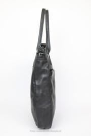 Bear design hand-/schoudertas becky  CP 1767 - zwart