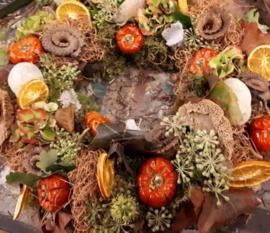 DIY pakket herfstkrans