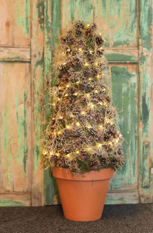 DIY Dennenappelboom