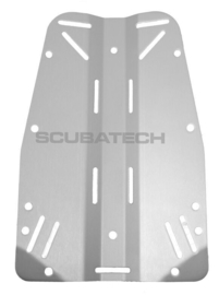 Backplate, 3mm (850g), aluminum, grey
