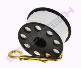 Spool 45m with brass 100mm snap
