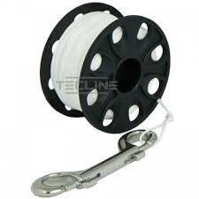 Spool 45m with SS 100mm snap