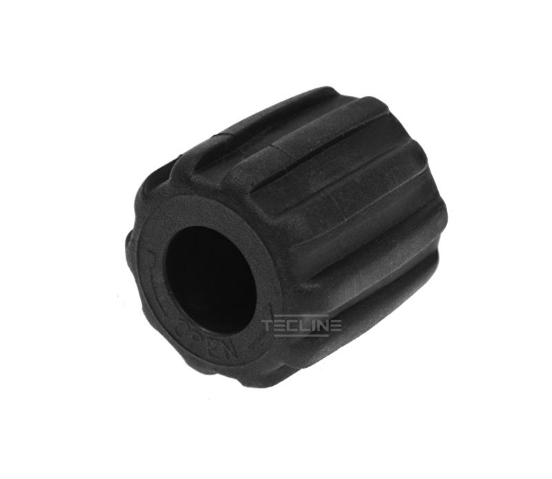 Valve knob TEC, black