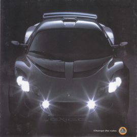 Exige & Elise/III S/111 R brochure, 12 pages, factory-issued, 4 languages