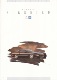 Firebird 1994, 16 page folder, Dutch language