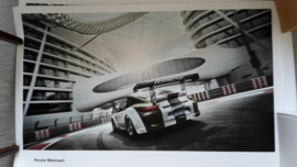 911 GT3 Cup Motorsport large original factory poster, published 04/2011