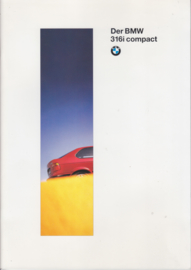 316i Compact brochure, 42 pages, A4-size, 1/1994, German language