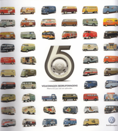 Transporter 65 years Historic brochure, 36 pages,  square size, Dutch language, 2012