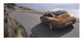 911 Targa 4,  foldcard, 2007, WVK 228 300 07