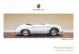 Classic, 356 Speedster, factory issue, A6-size postcard, 2016, German