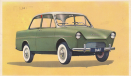 600 Sedan, standard size, factory issue, 5 languages, about 1960, # 20