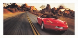Boxster S,  foldcard, 2000, WVK 168 600