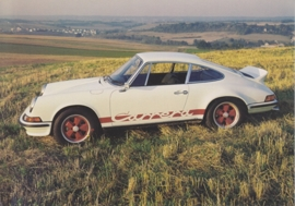 911 Carrera 2.7 RS, Atlas Collection postcard # 2, A6-size postcard, Swiss, 2015