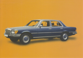 Mercedes-Benz 350 SE 1979, Classic Car(d) of the month 9/2002, Germany