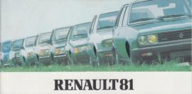 Program brochure, 32 smaller pages, 1981, Dutch language