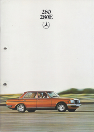 280/280E Sedans brochure, 48 pages, 04/1979, Dutch language