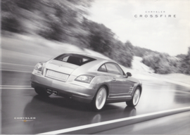 Crossfire Coupe  brochure, 20 pages, 08/2003, Dutch language