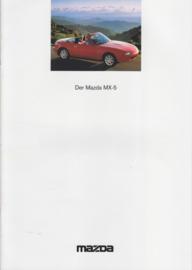 MX-5 Cabriolet brochure, 20 pages, 05/1995, German language