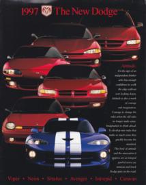 Program all model brochure, 32 pages, 1997, English language, USA
