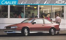 Cavalier,  US postcard, large size, 19 x 11,75 cm, 1989