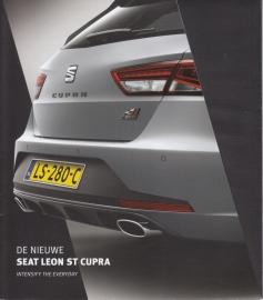 Leon ST Cupra 280 brochure, 12 pages, 04/2015, Dutch language