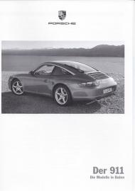 911 Carrera pricelist, 82 pages, 10/2006, German