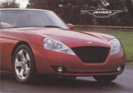 Jensen S-V8 Convertible brochure, 4 pages, 1999, English language